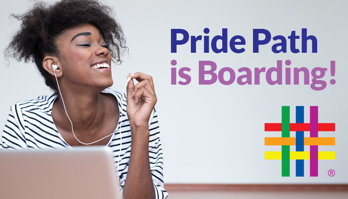 Pride Path is Boarding