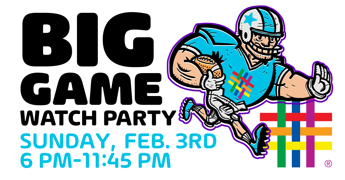Brooklyn Community Pride Center BIG GAME Watch Party