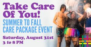 Summer to Fall Care Packages at Brooklyn Community Pride Center