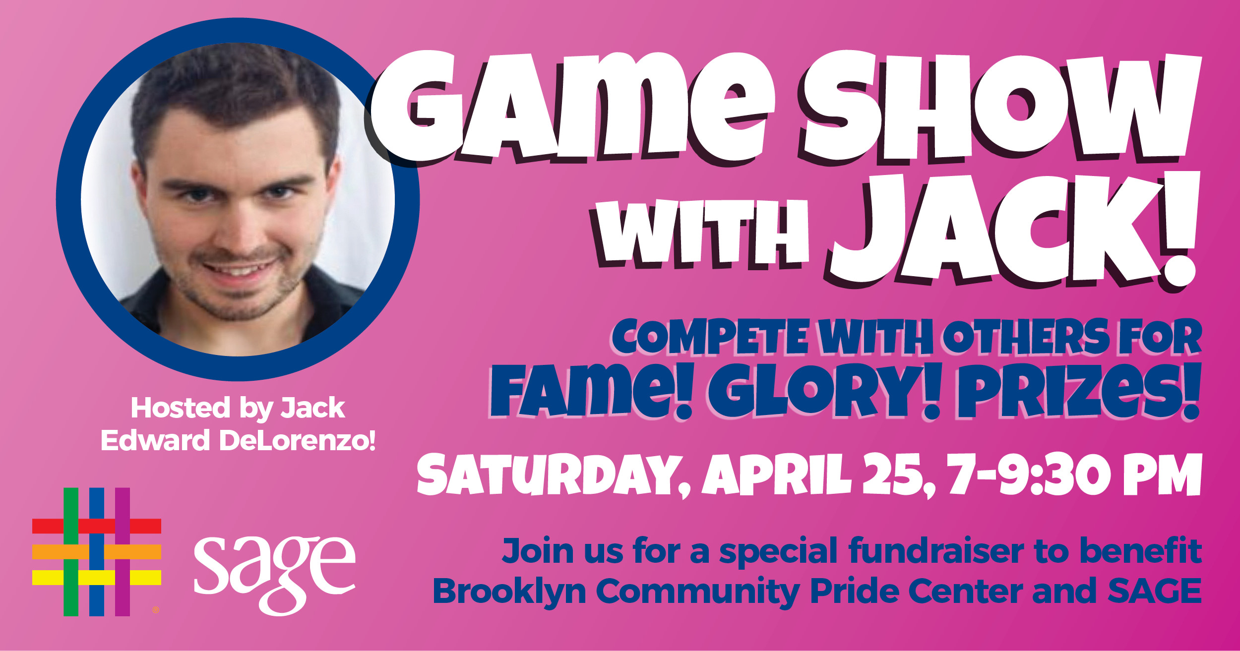 Game Show with Jack! at Brooklyn Community Pride Center