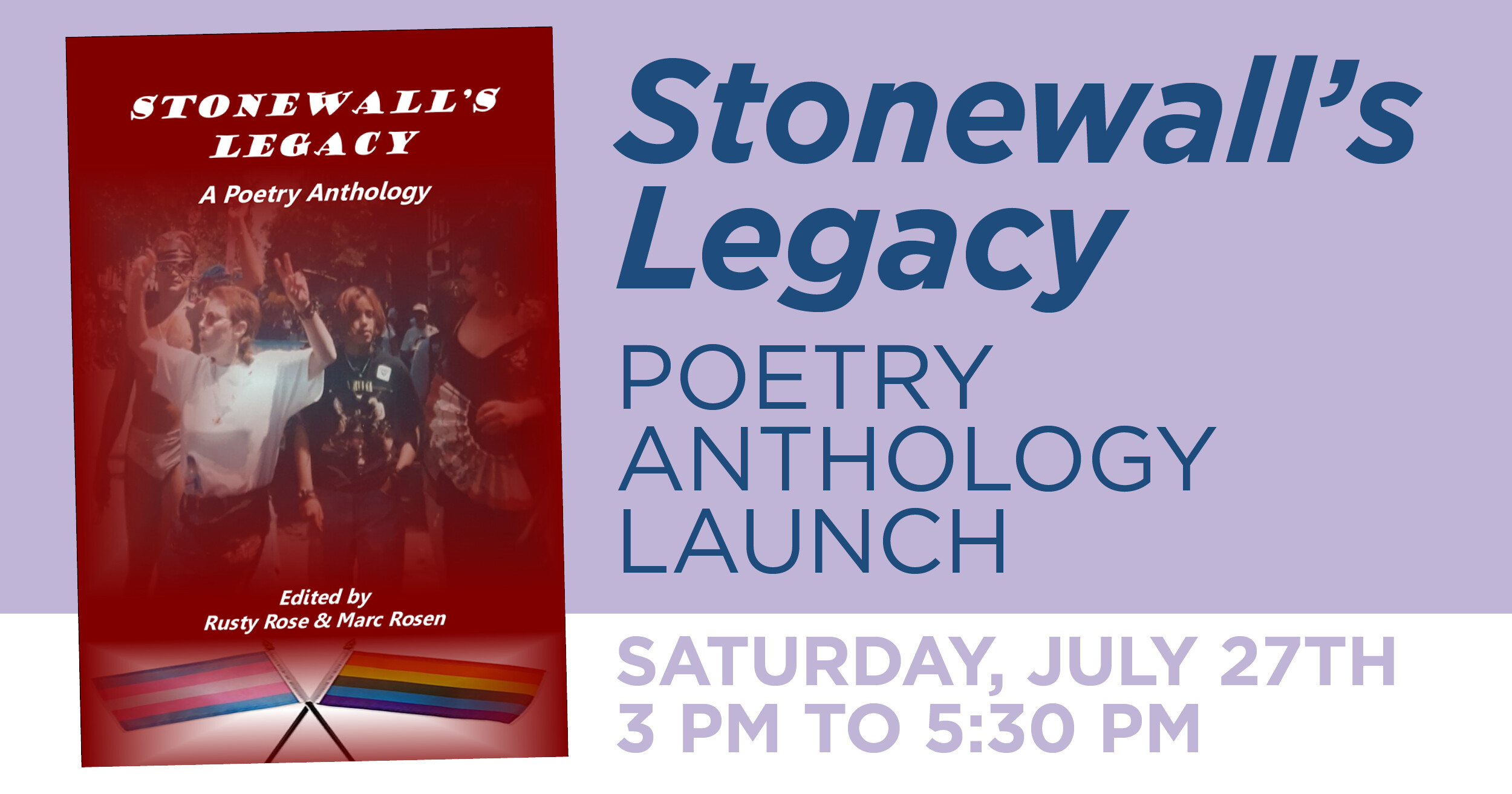 Stonewall's Legacy Poetry Anthology Launch at Brooklyn Community Pride Center