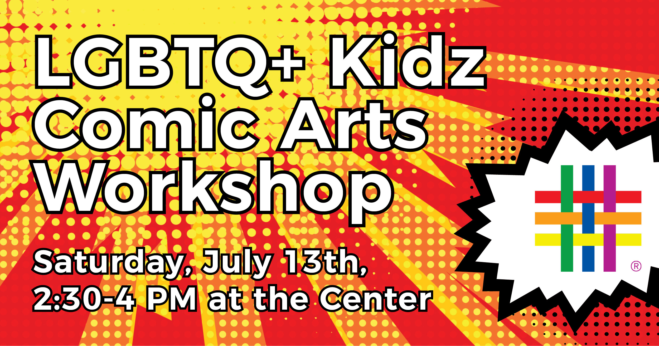 LGBTQ+ Kidz Comic Arts Workshop at Brooklyn Community Pride Center