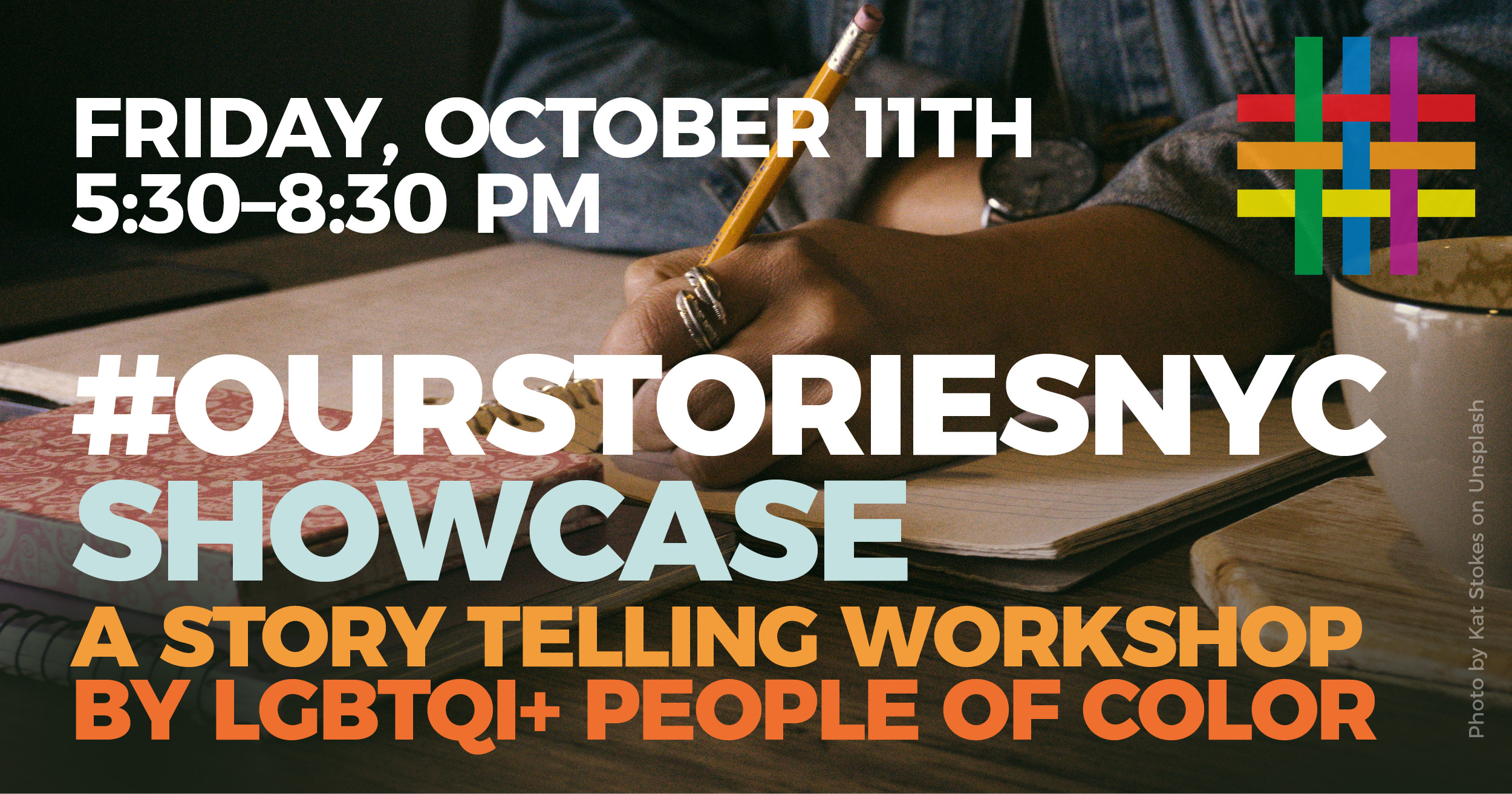 #OurStoriesNYC SHOWCASE at Brooklyn Community Pride Center