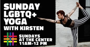 Sunday LGBTQ+ Yoga Classes with Kirsten at Brooklyn Community Pride Center