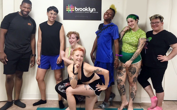 Sunday LGBTQ+ Yoga Classes with Kirsten