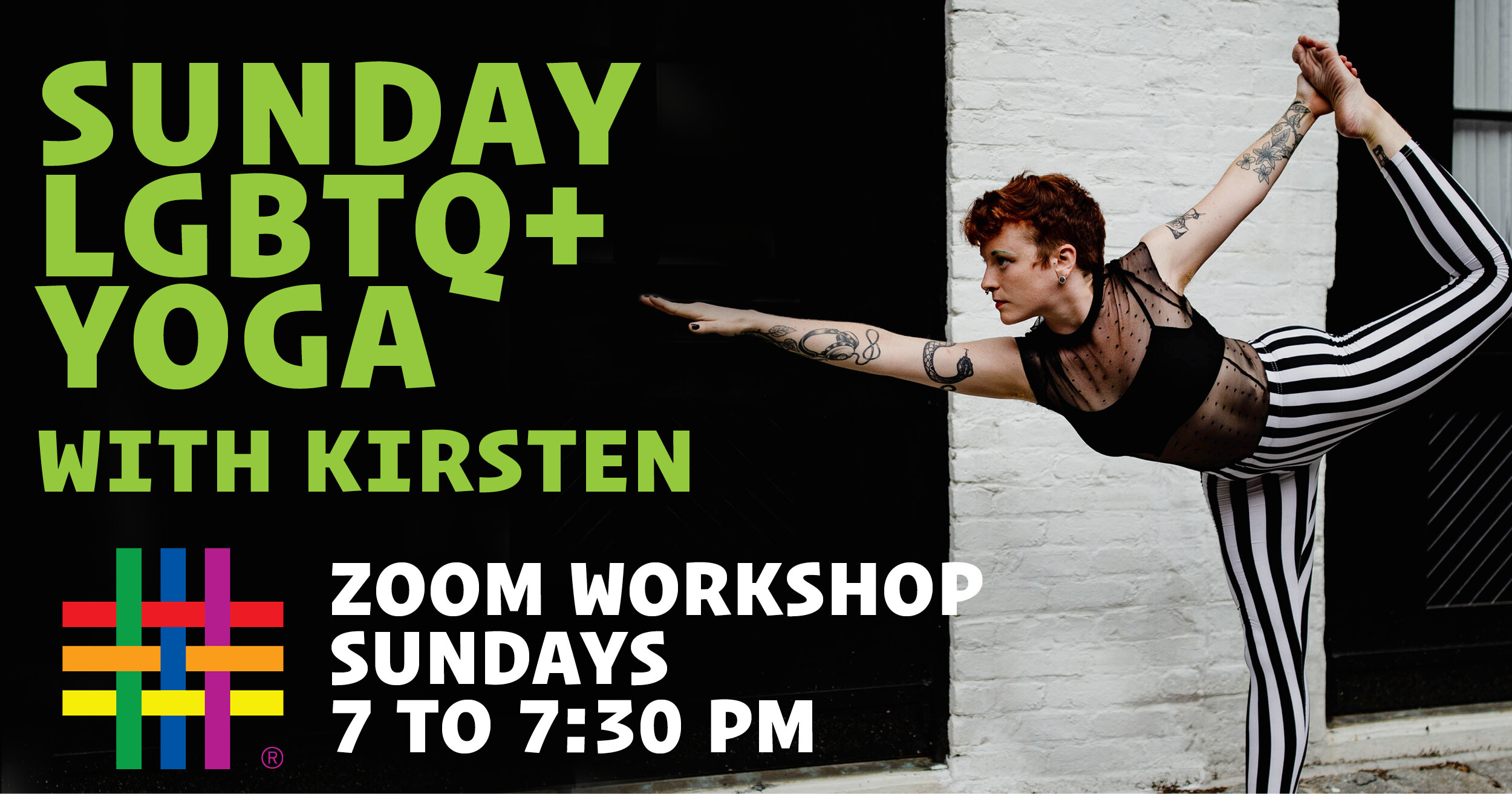 ZOOM CLASSES: LGBTQ+ Yoga Classes with Kirsten