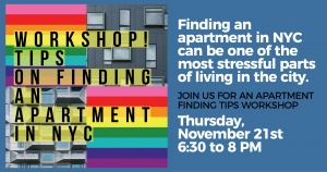 Finding an Apartment in NYC at Brooklyn Community Pride Center