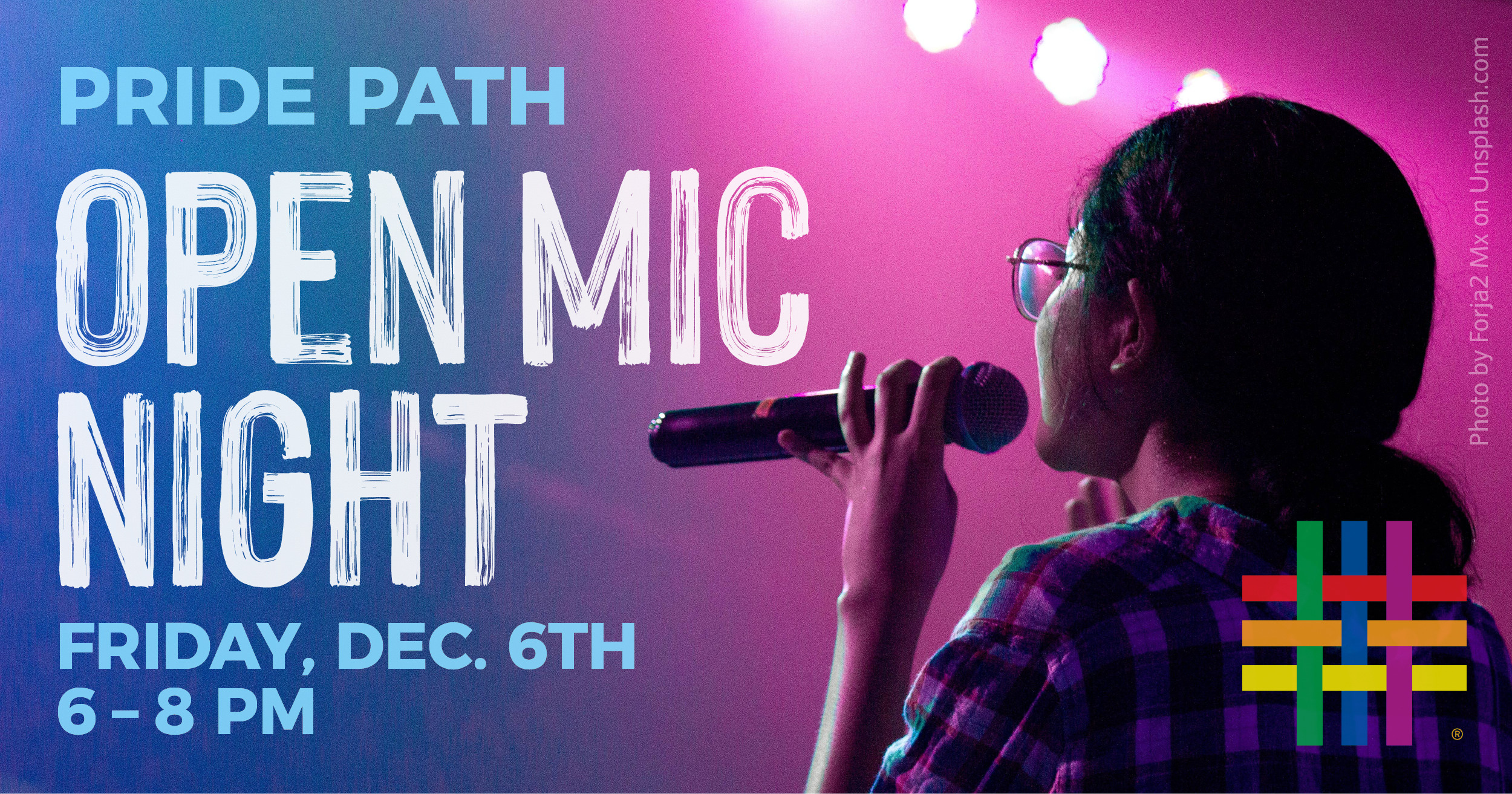 Pride Path Open Mic Night at Brooklyn Community Pride Center