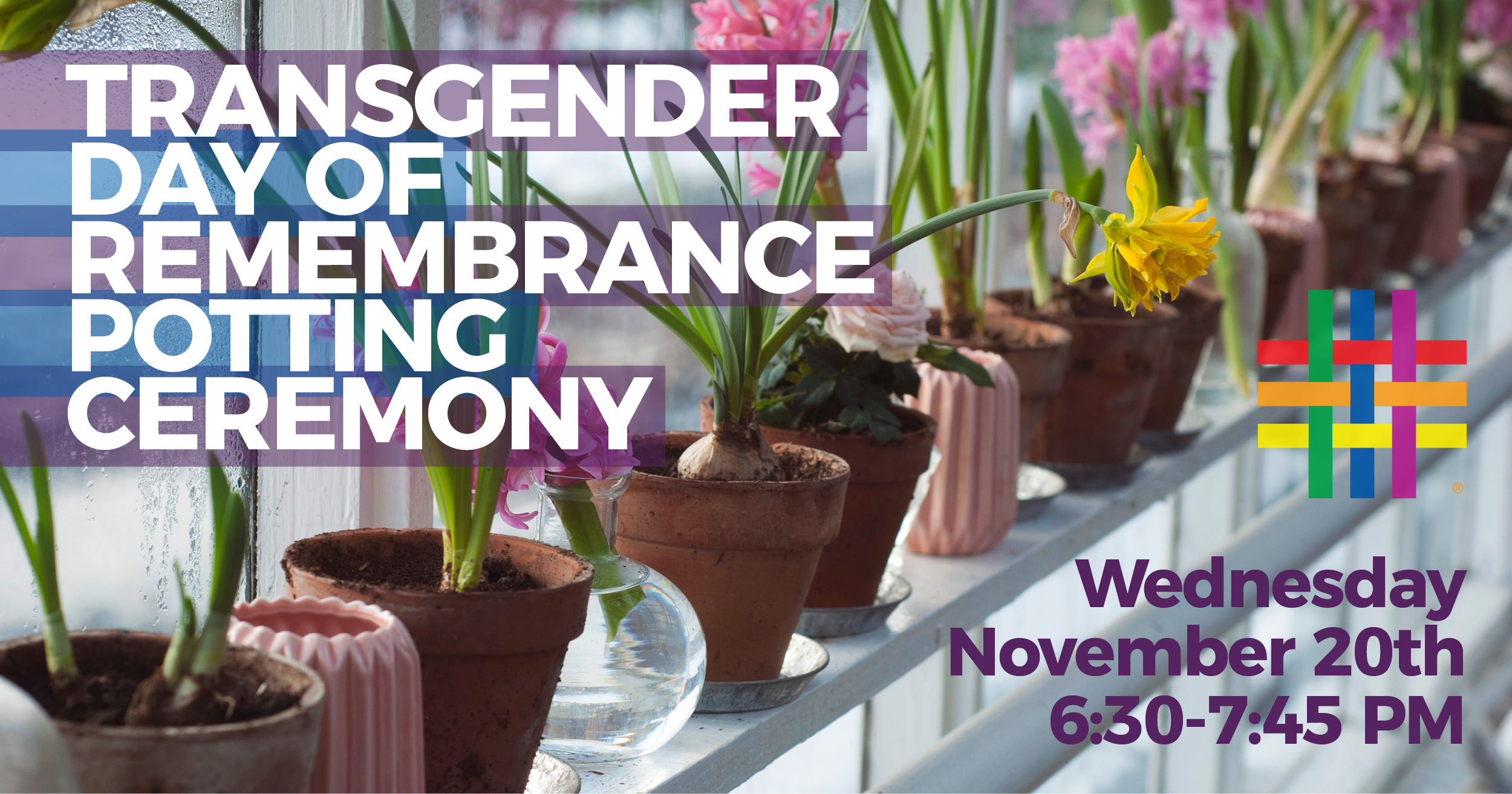 Transgender Day of Remembrance Potting Ceremony at Brooklyn Community Pride Center