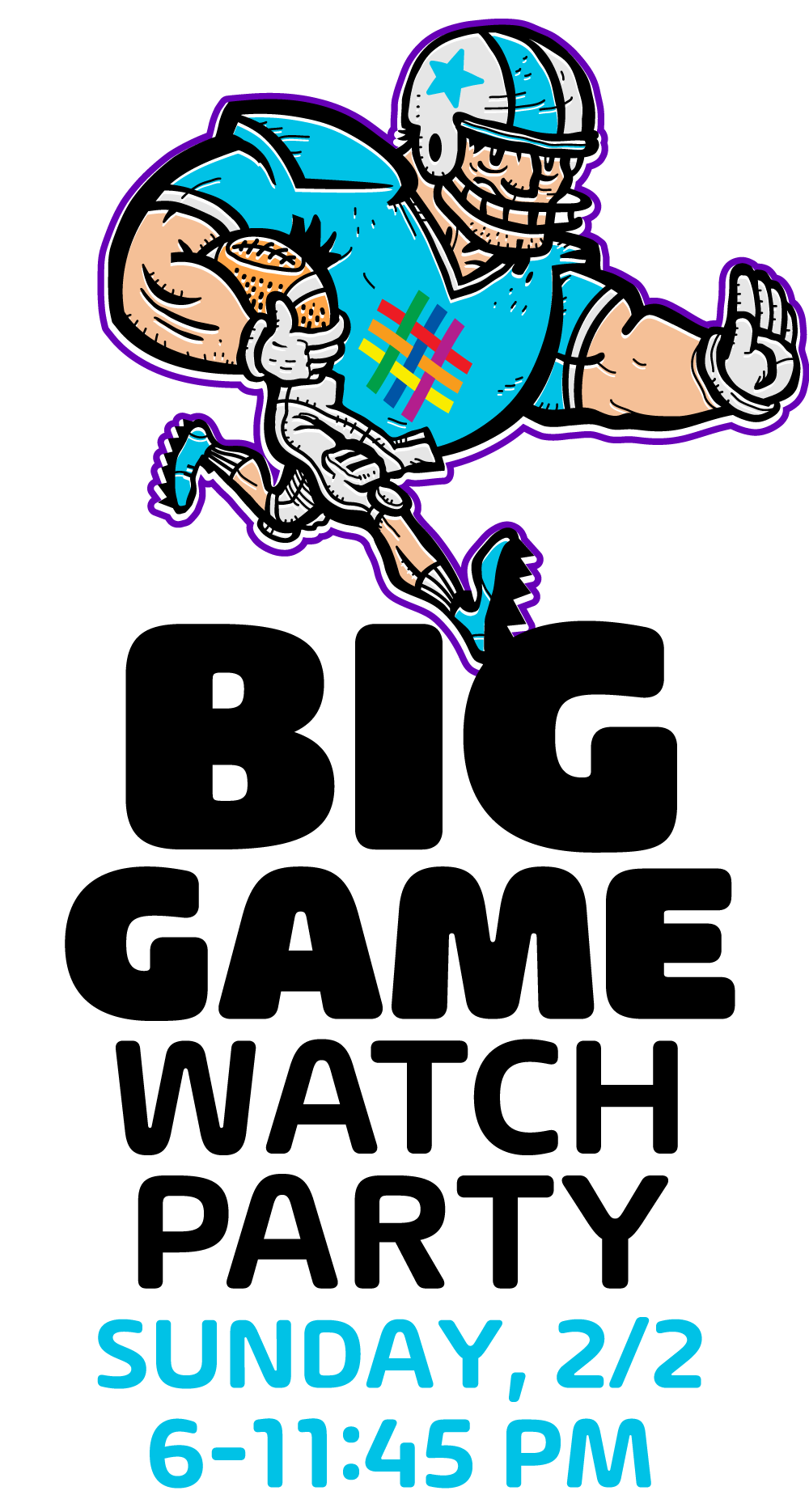Big Game Watch Party 2/2 at Brooklyn Community Pride Center