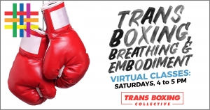 VIRTUAL Trans Boxing for Beginners at Brooklyn Community Pride Center