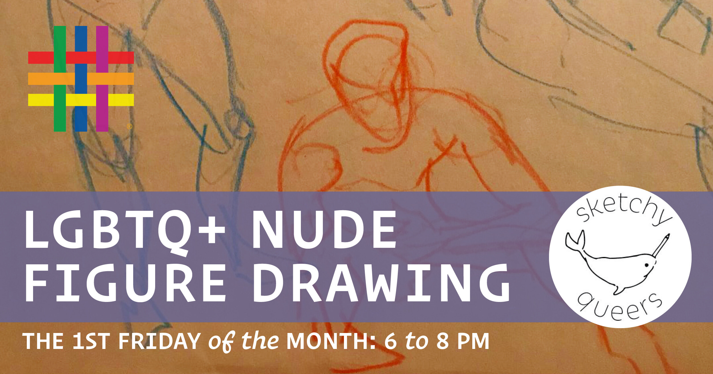 LGBTQ+ Nude Figure Drawing at Brooklyn Community Pride Center