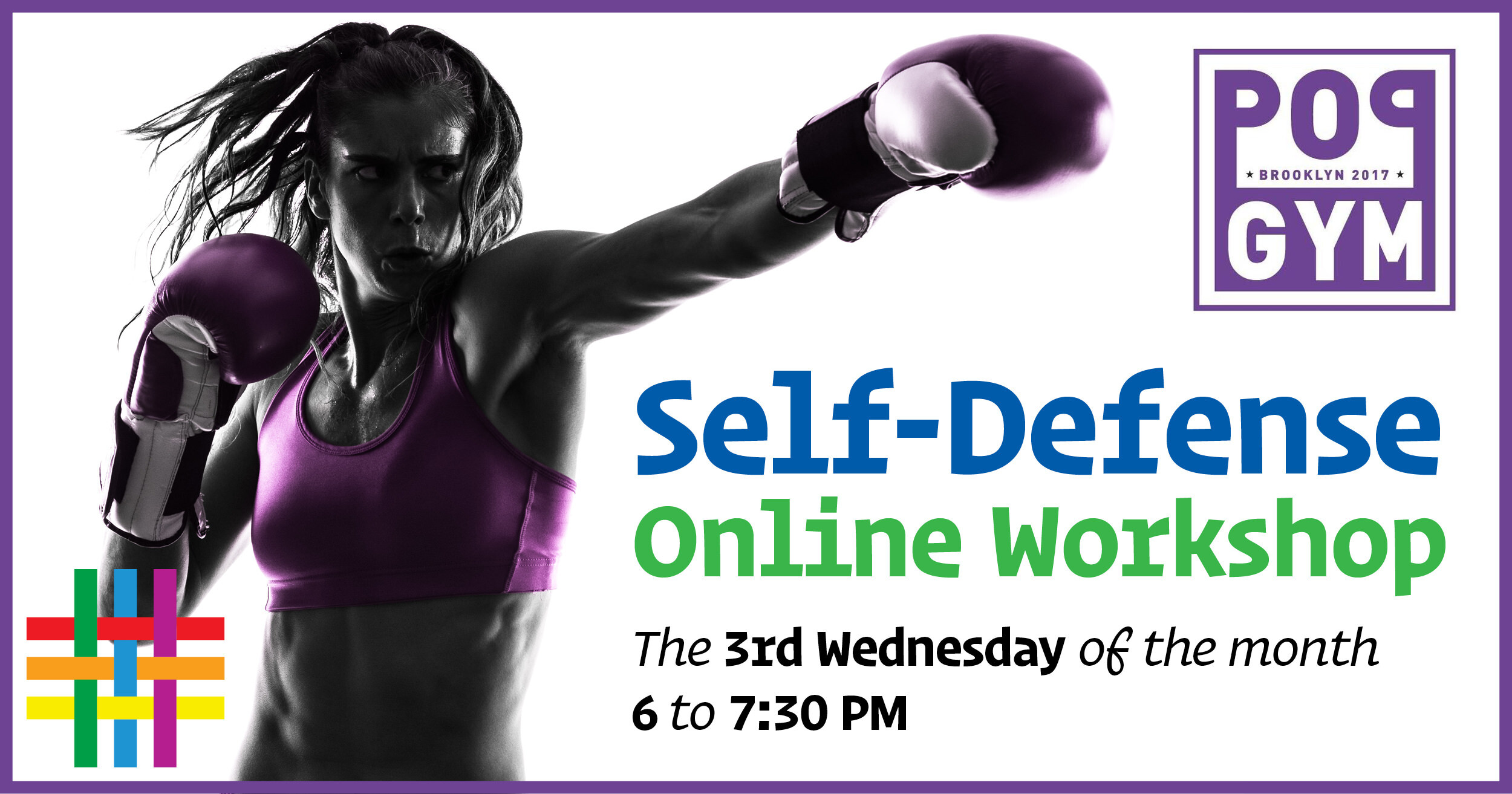 Self-Defense Online Workshop at Brooklyn Community Pride Center