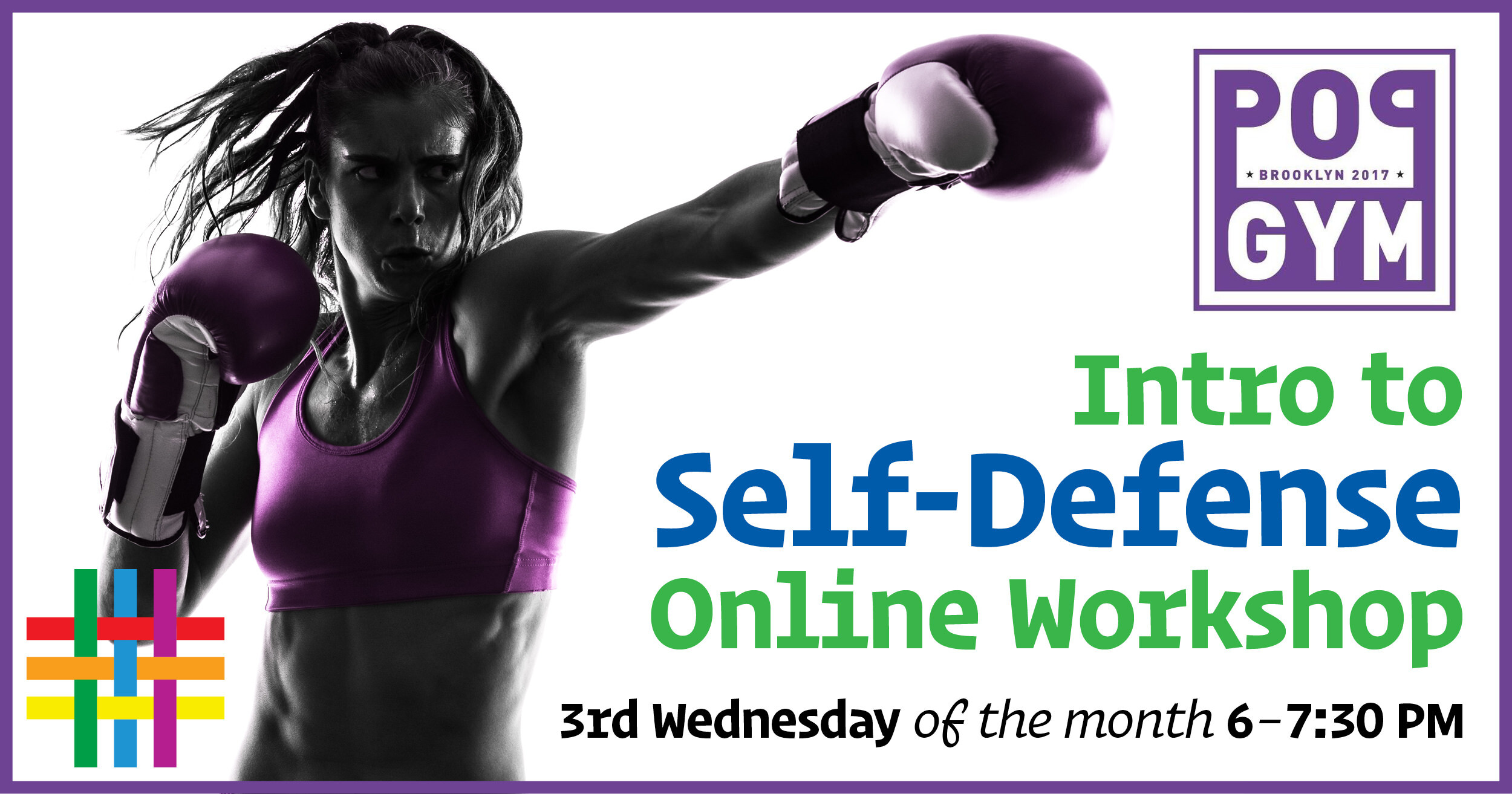 Into to Self-Defense Online Workshop at Brooklyn Community Pride Center