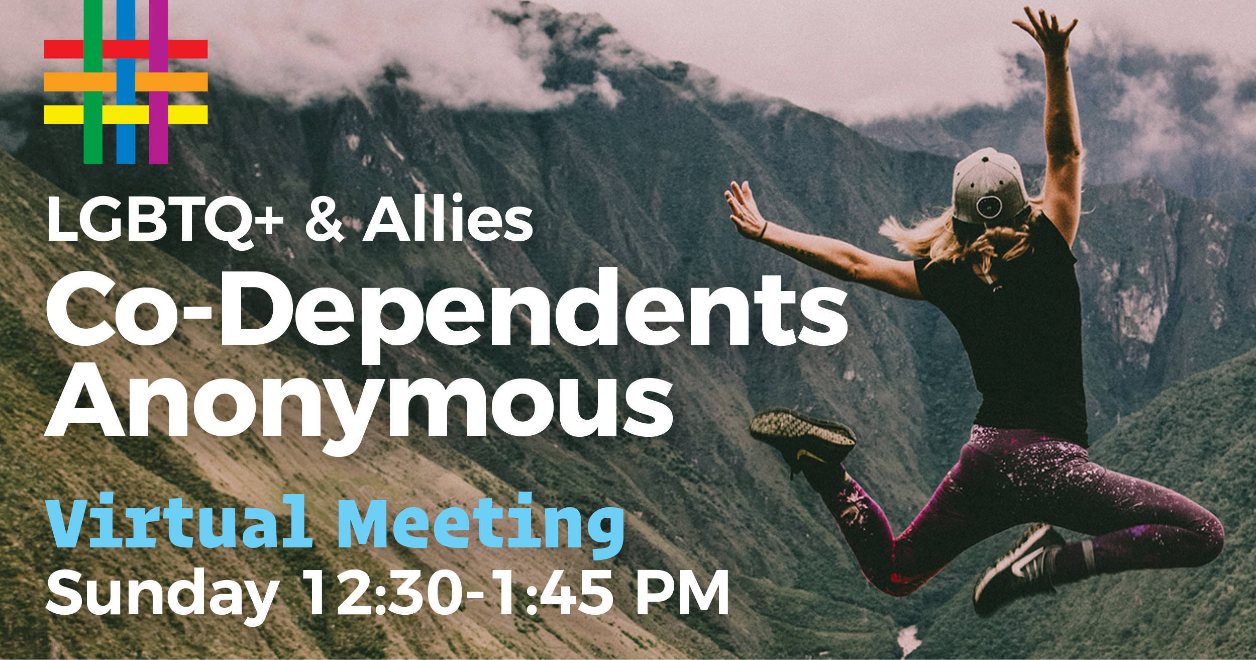 VIRTUAL: LGBTQ+ & Allies Co-Dependents Anonymous