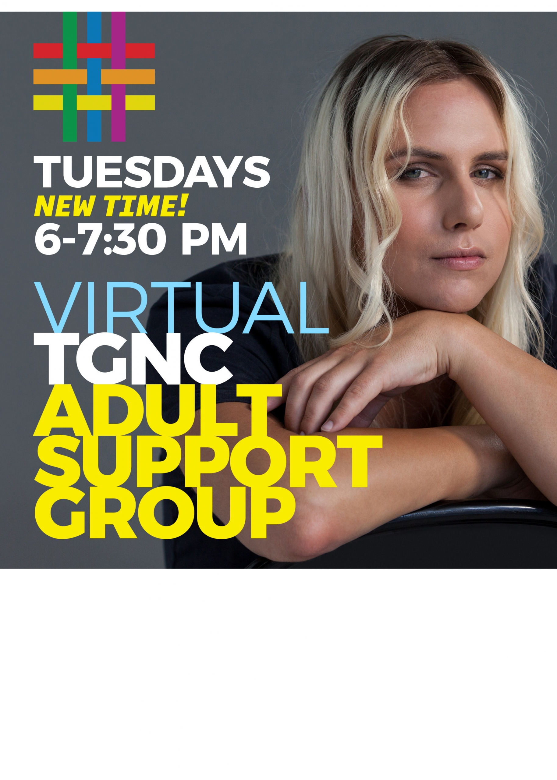 VIRTUAL: TGNC Adult Support Group at Brooklyn Community Pride Center