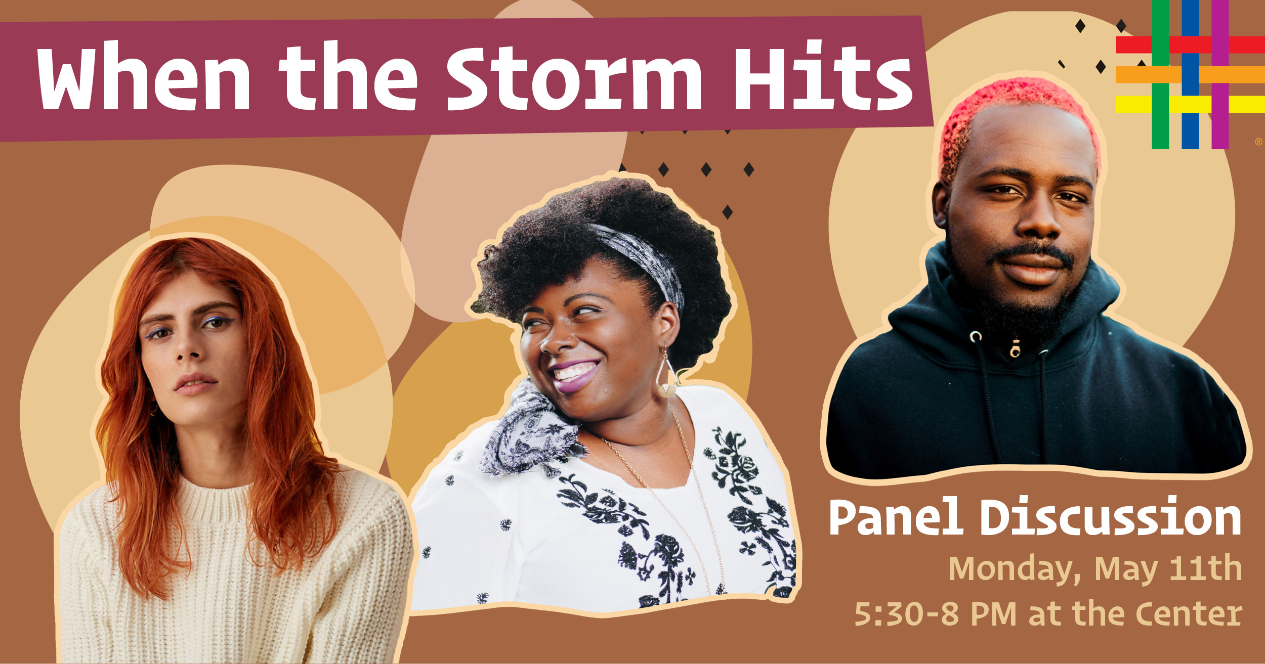 When the Storm Hits Panel Discussion at Brooklyn Community Pride Center
