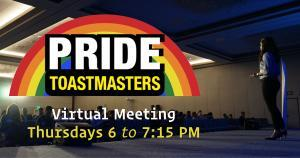 Pride Toastmasters at Brooklyn Community Pride Center