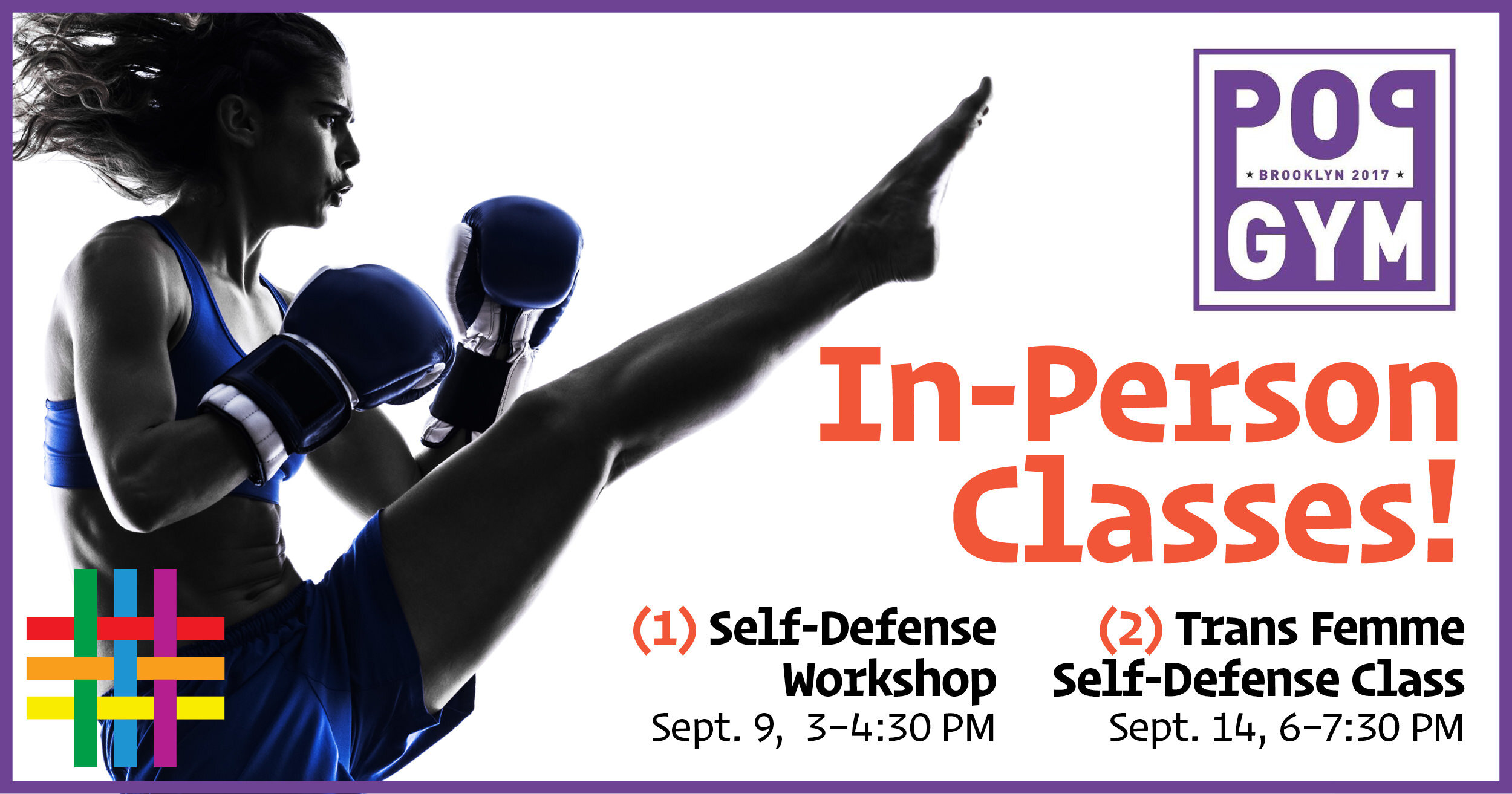 In-Person Self-Defense Classes by Pop Gym