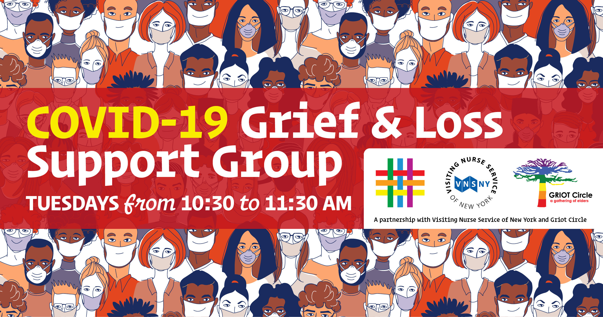 COVID-19 Grief & Loss Tuesday Support Group