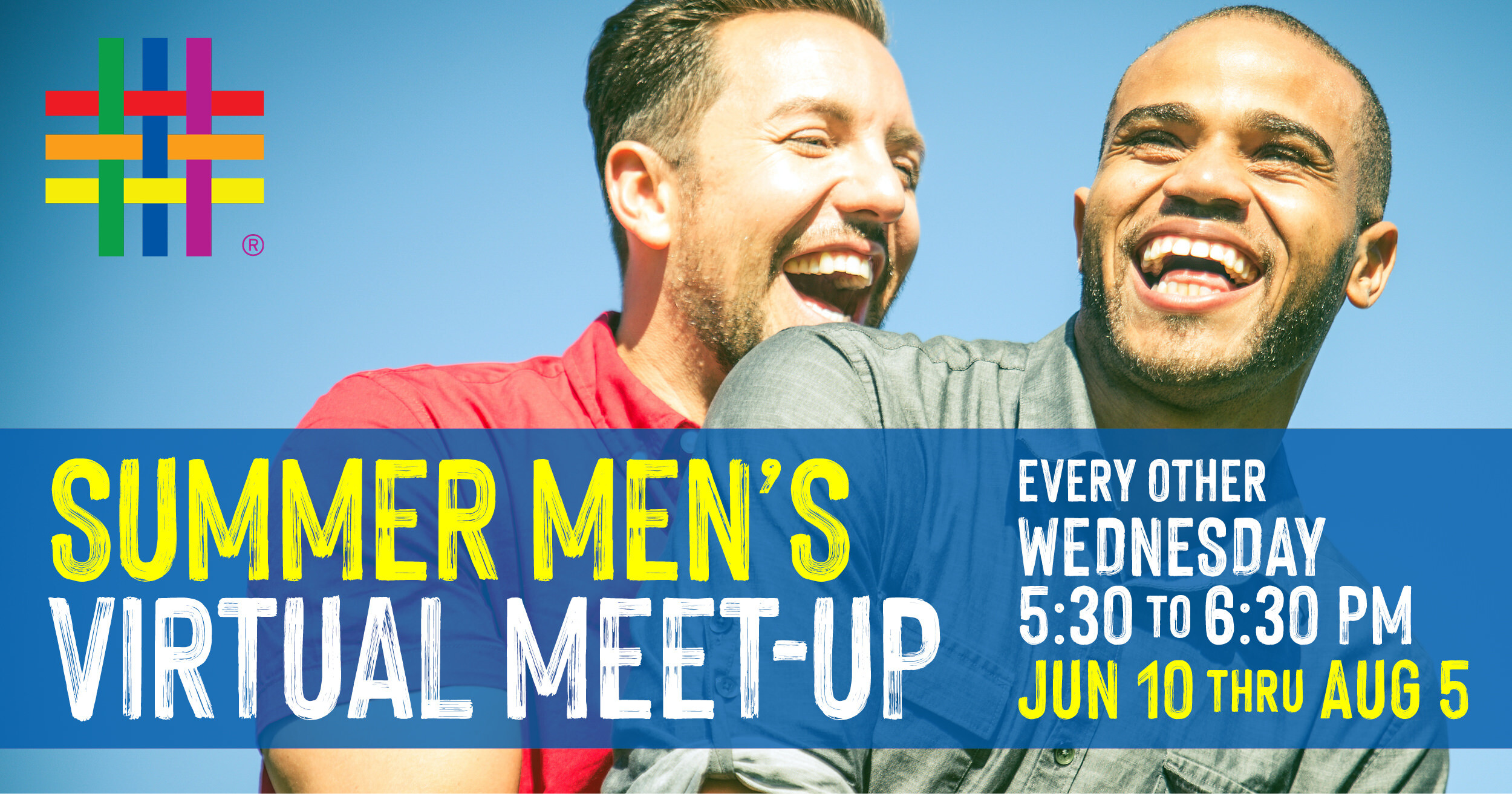Summer Men's Virtual Meet-Up at Brooklyn Community Pride Center
