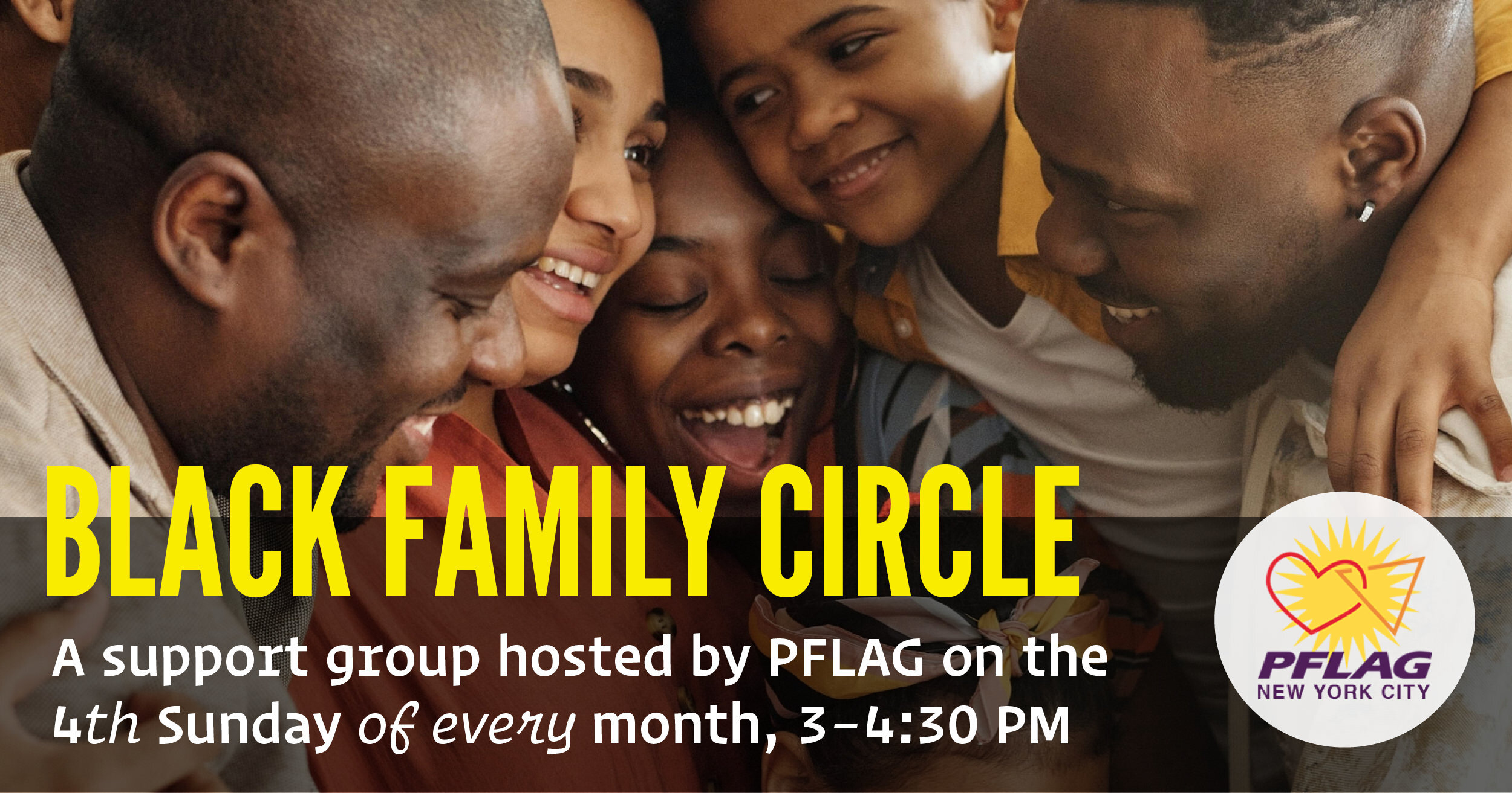Black Family Circle Support Group at Brooklyn Community Pride Center