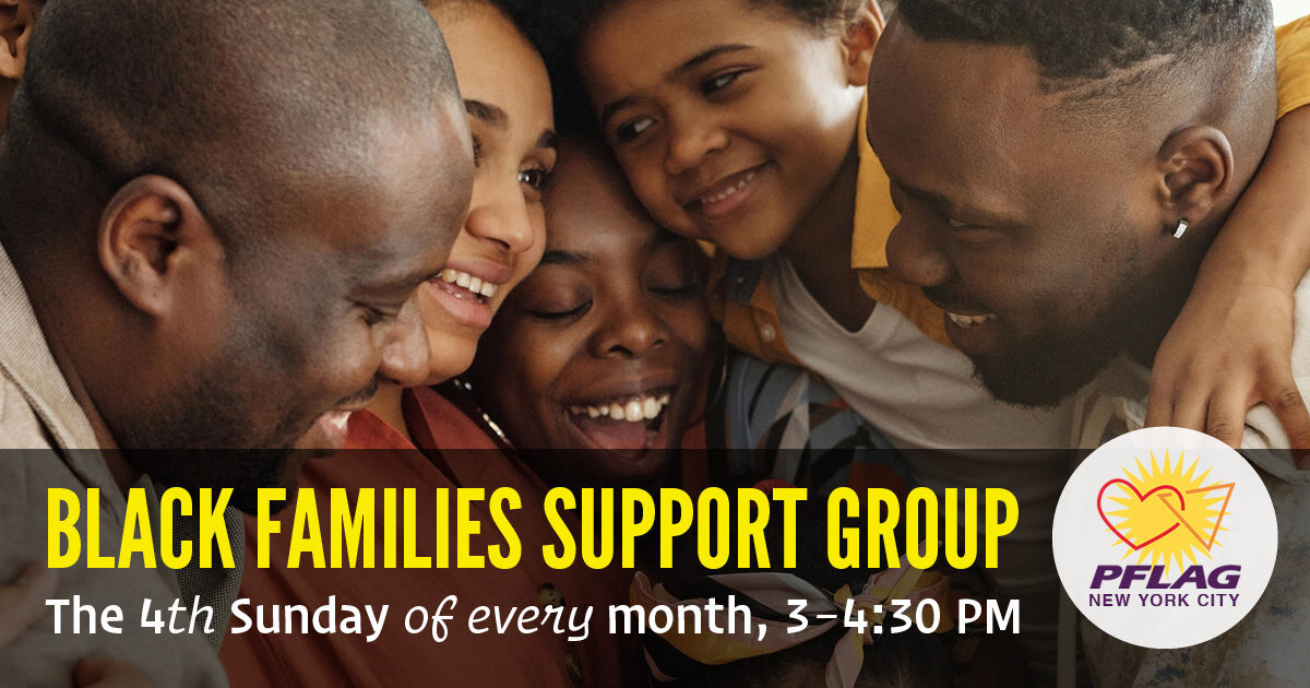 Black Families Support Group at Brooklyn Community Pride Center