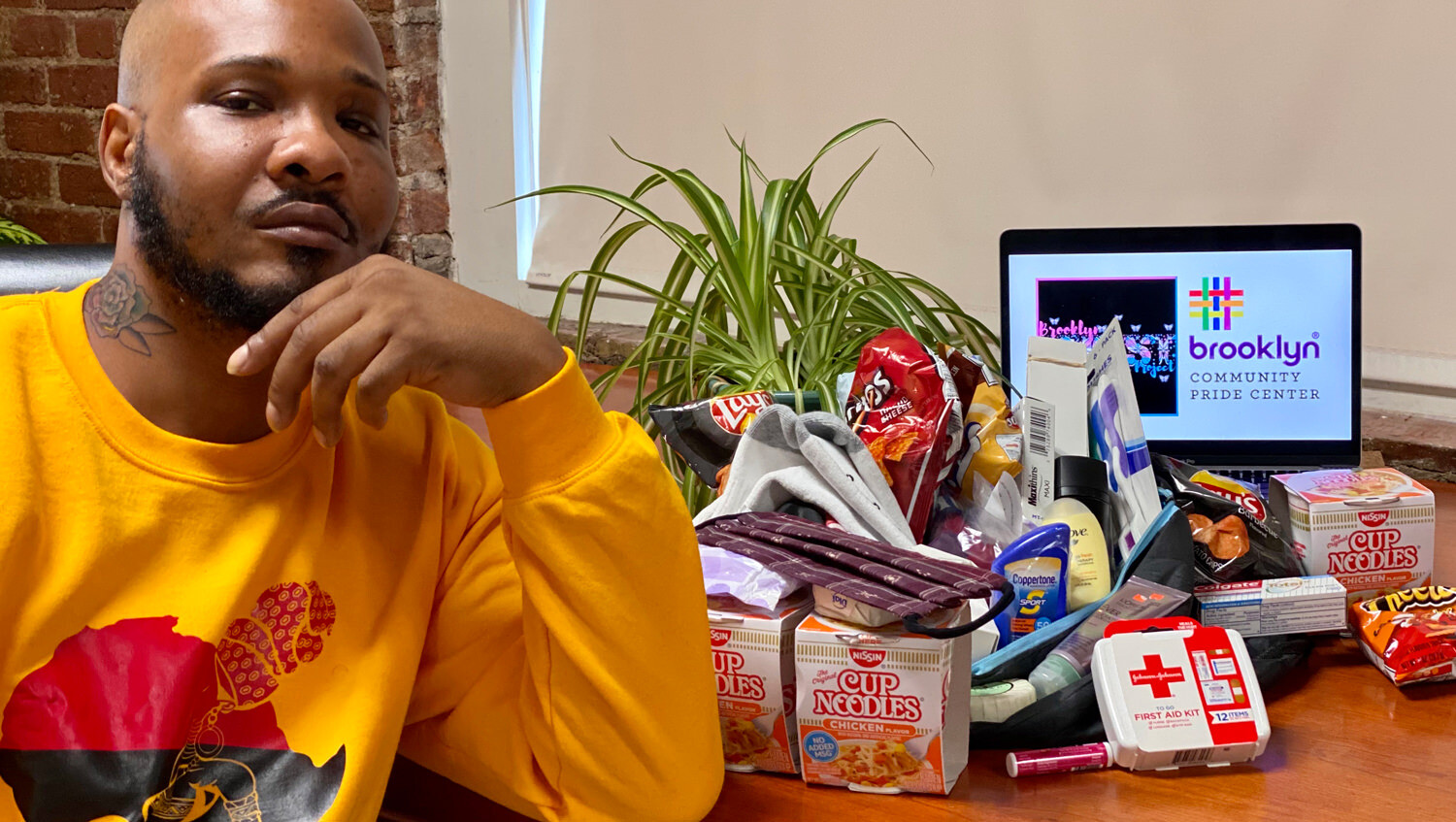 COVID-19 Relief Care Packages for Trans & Non-binary P.O.C. at Brooklyn Community Pride Center
