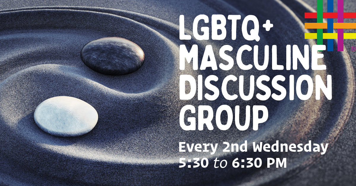 LGBTQ+ Masculine Discussion Group at Brooklyn Community Pride Center