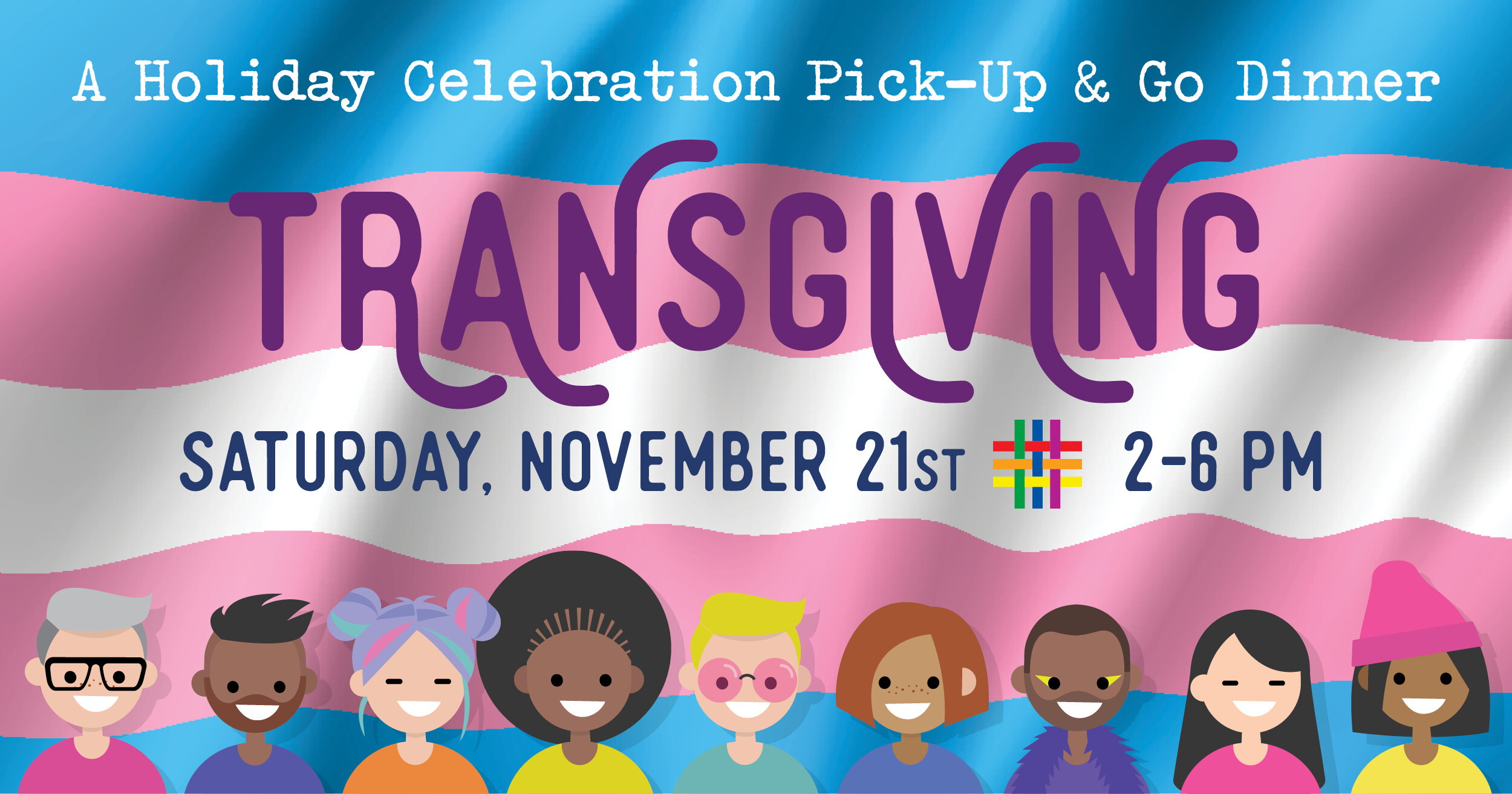 Transgiving Holiday Celebration Pick-Up & Go Dinner at Brooklyn Community Pride Center