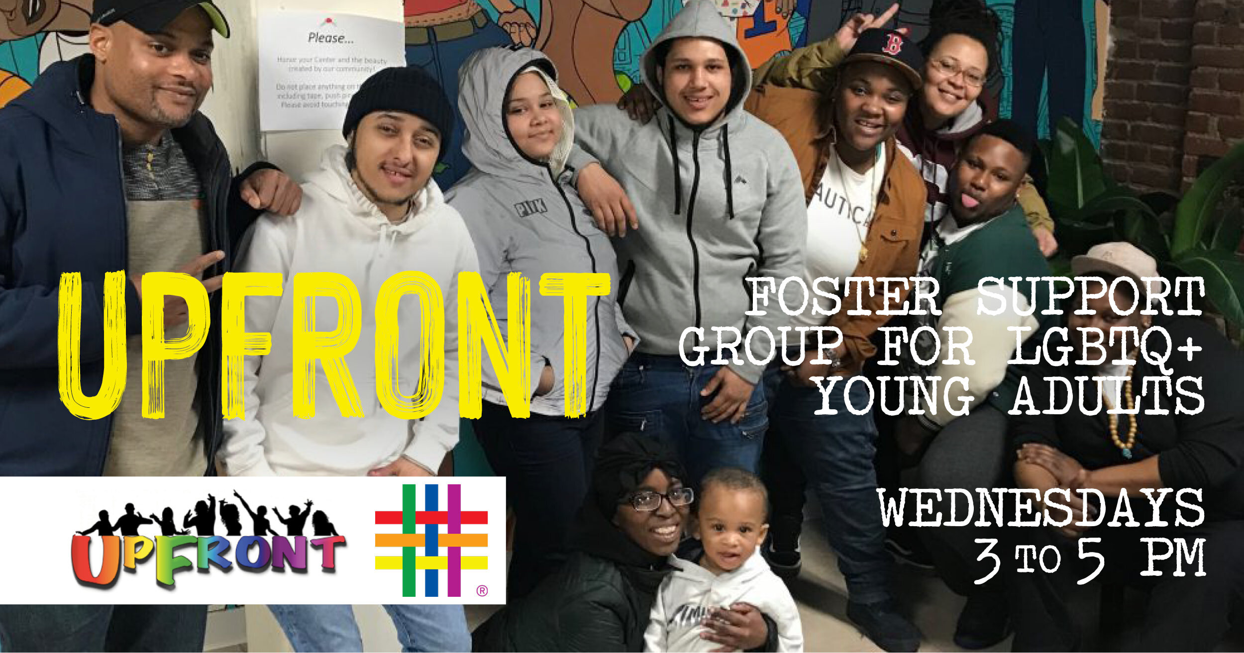 Upfront: Foster Support Group for LGBTQ+ Young Adults