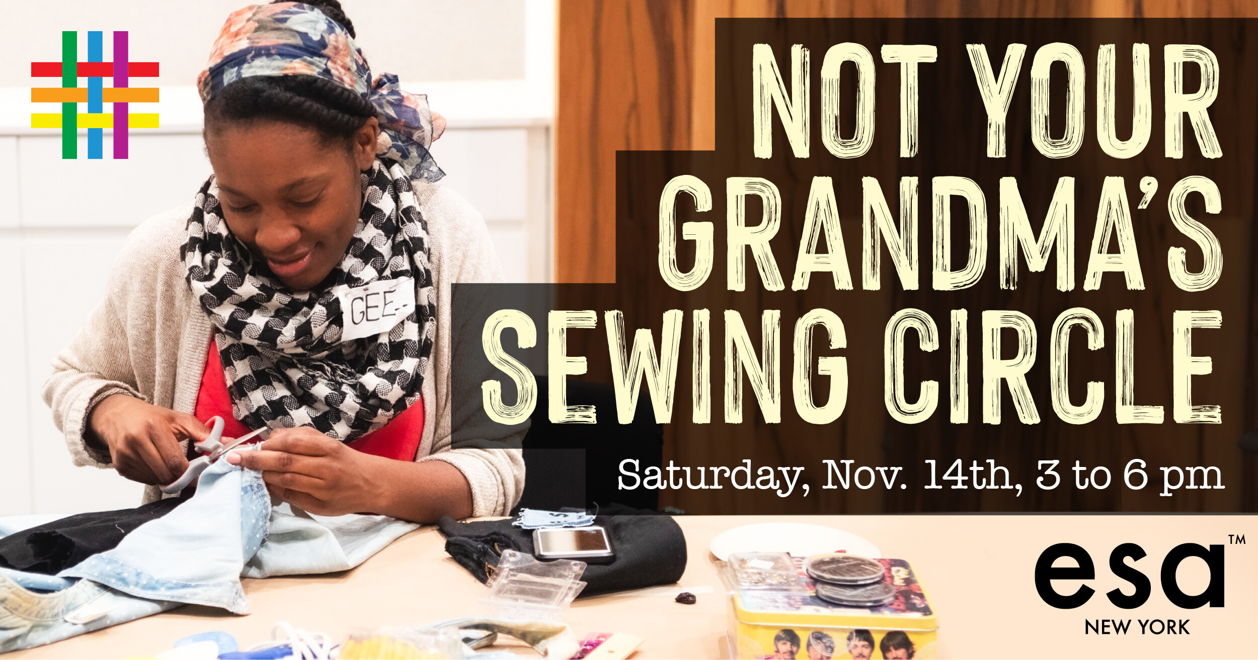 Not Your Grandma's Sewing Circle