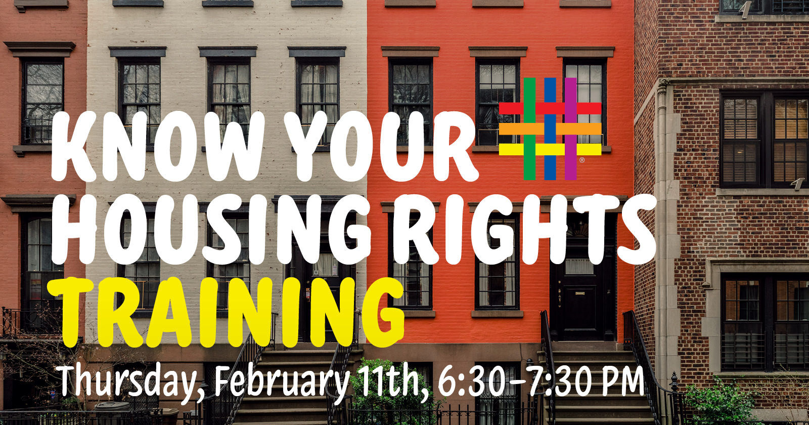 Know Your Housing Rights Training at Brooklyn Community Pride Center