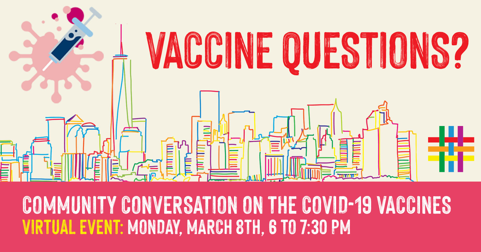Community Conversation on the COVID-19 Vaccines at Brooklyn Community Pride Center
