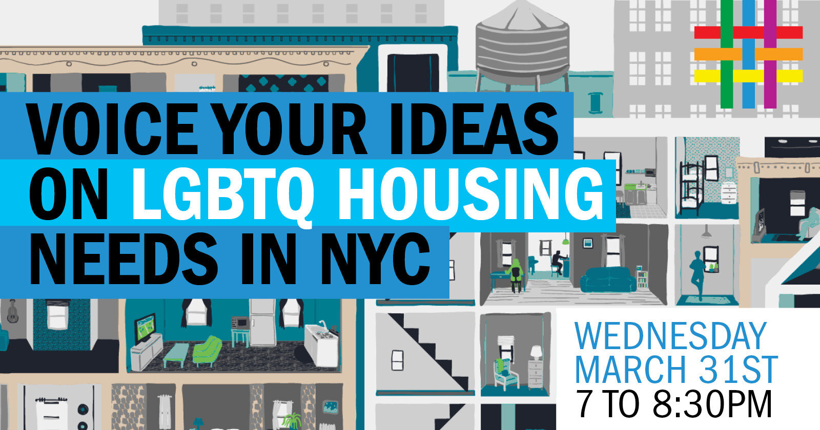 Voice Your Ideas on LGBTQ Housing Needs in NYC