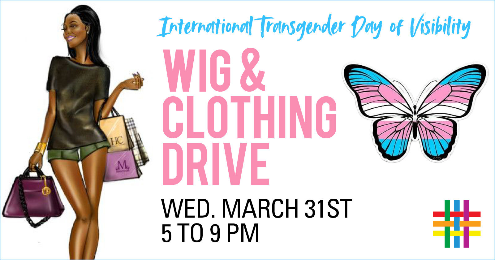 International Transgender Day of Visibility Wig and Clothing Drive at Brooklyn Community Pride Center
