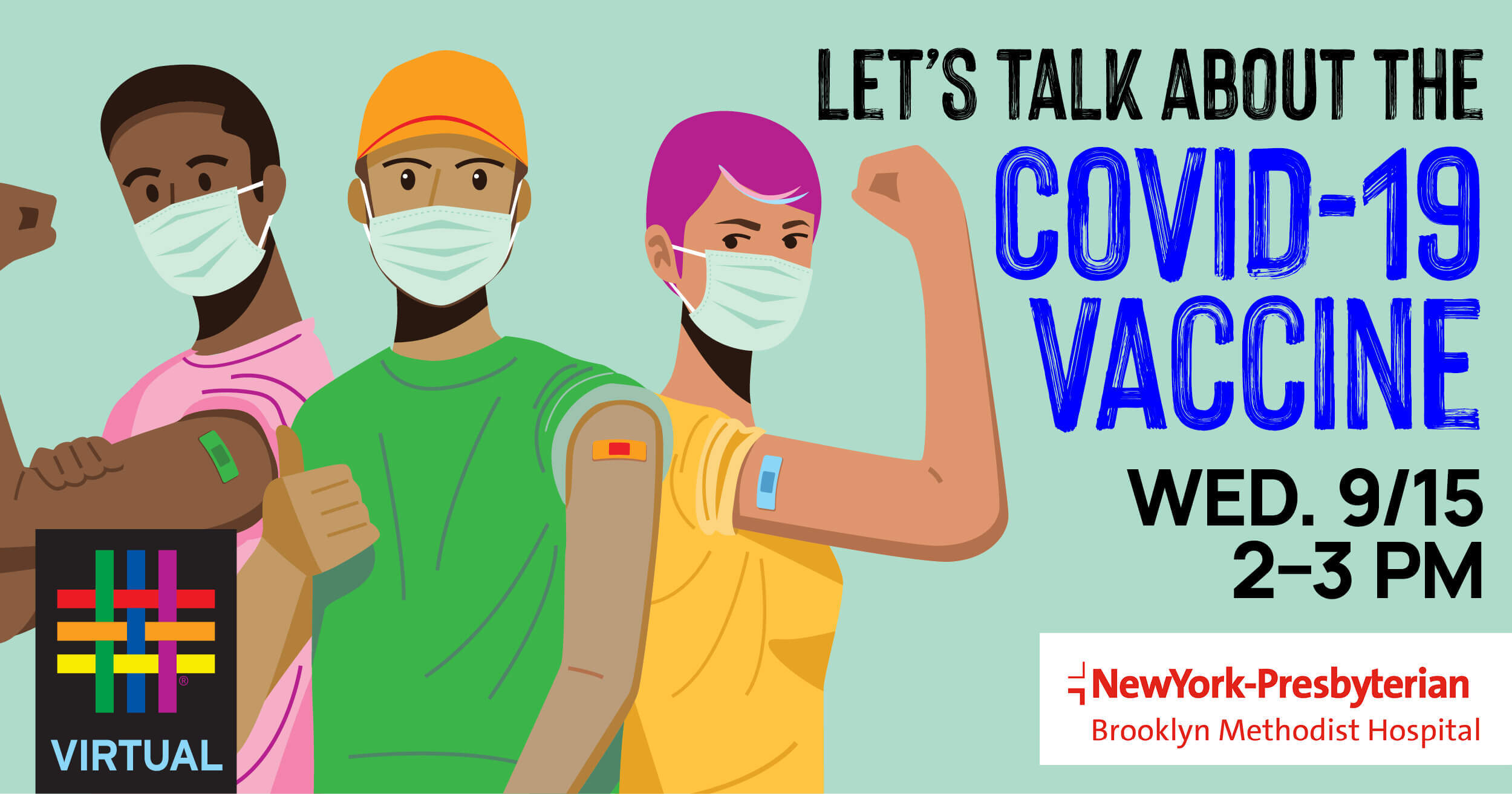 Let's Talk about the COVID-19 Vaccine with Brooklyn Community Pride Center