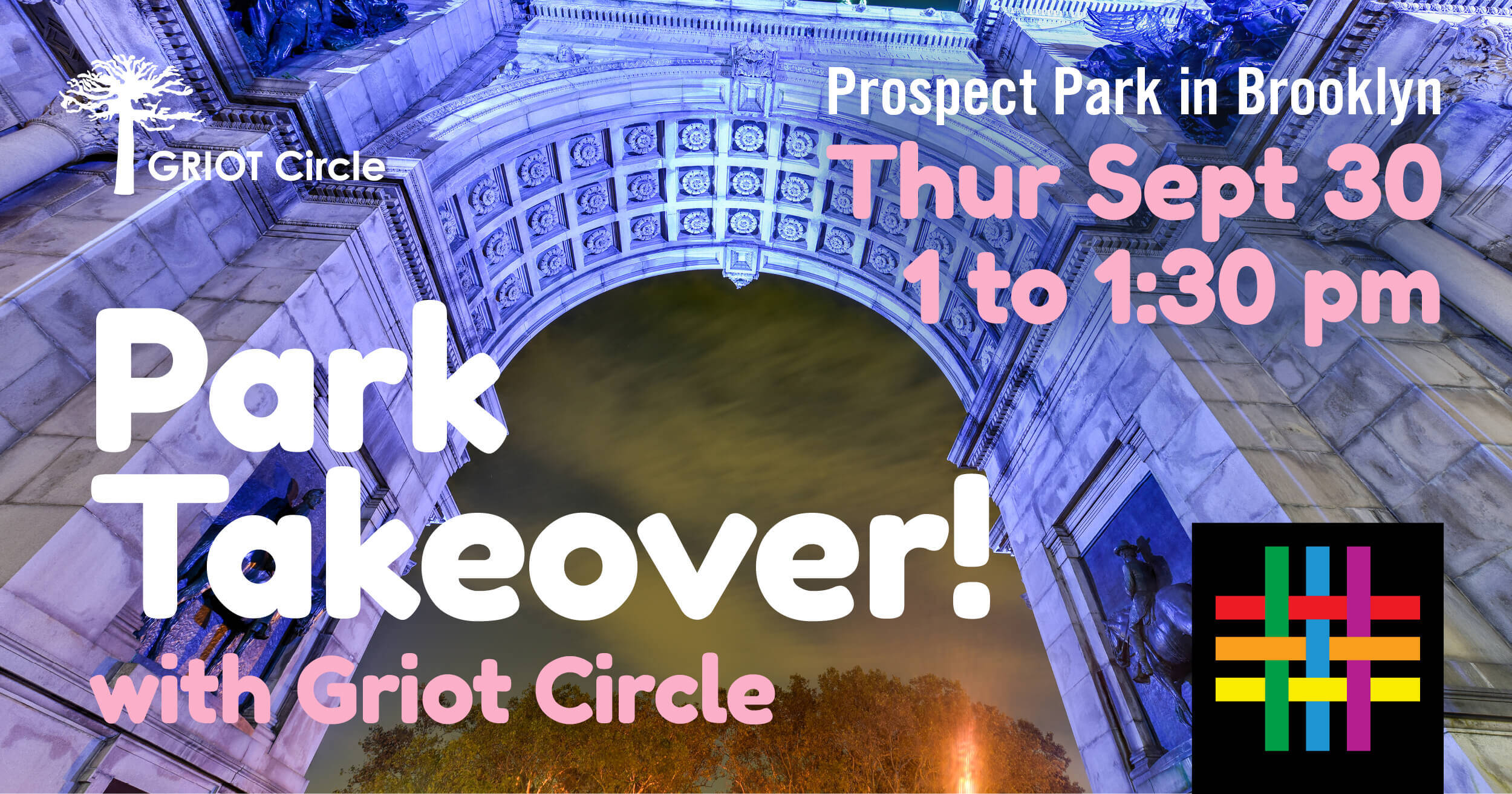 Park Takeover with Griot Circle and Brooklyn Community Pride Center