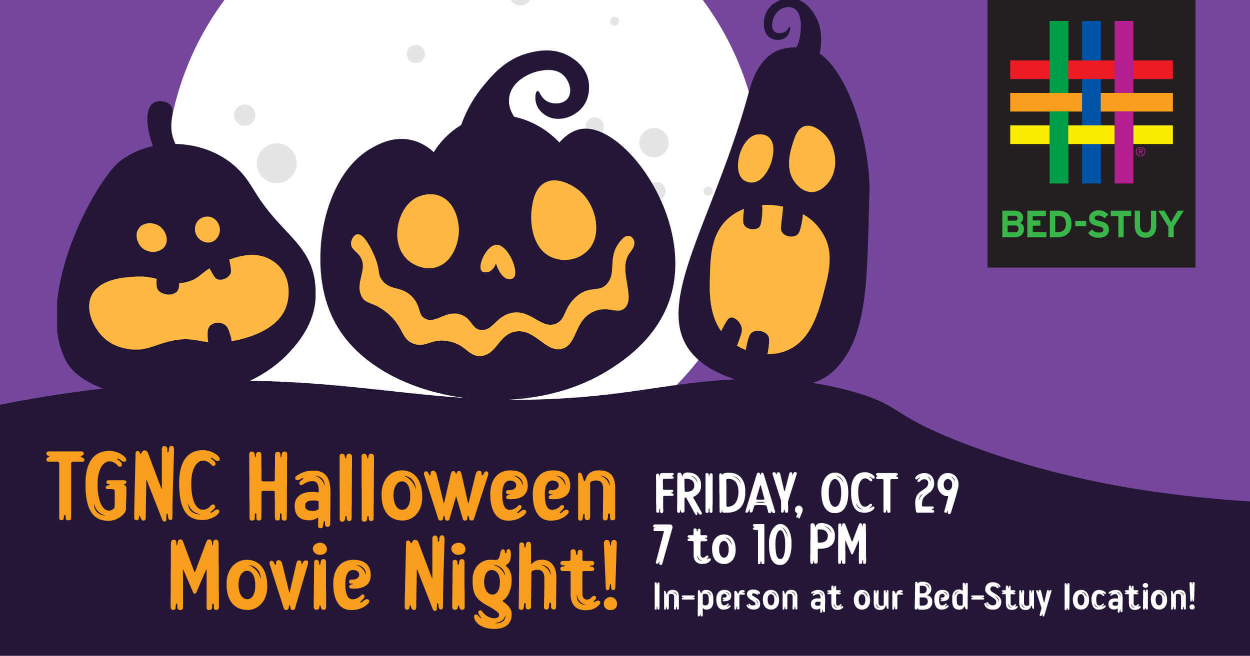 TGNC Halloween Movie Night at Brooklyn Community Pride Center in BED-STUY!